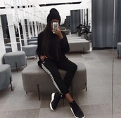 pants,joggers,adidas,black,white,black and white,sportswear,sandra lambeck,adidas joggers,sports pants,sports fashion,streetwear,style,style me,fashion,summer,outfit,ootd,tumblr outfit,pinterest outfit,instagram,baddies,baddie outfit,sports shorts,sporty,sports top,sport shoes,hat,cap,grey