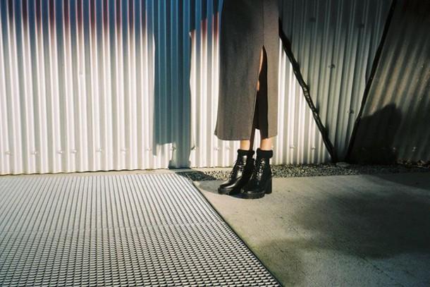 shoes black dress hipster boots black heels platform shoes punk grunge urban girly black black boots