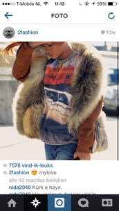 coat,rihanna,fur,fur vest,fur coat,fashion,rihanna style