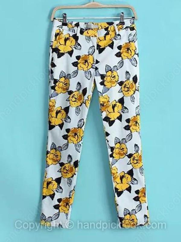 floral pants pants bottom pants