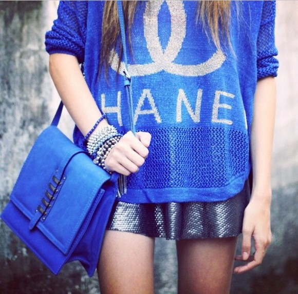 clothes chanel blouse t-shirt chanel t-shirt top tshirt dress