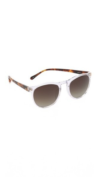 clear sunglasses brown
