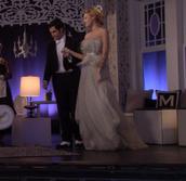 dress,gossip girl,blue,gown,feathers,blake lively,serena van der woodsen