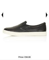 shoes,black,snake print,snake skin,plimsolls
