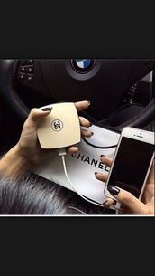 home accessory,black,chanel iphone battery packk,technology