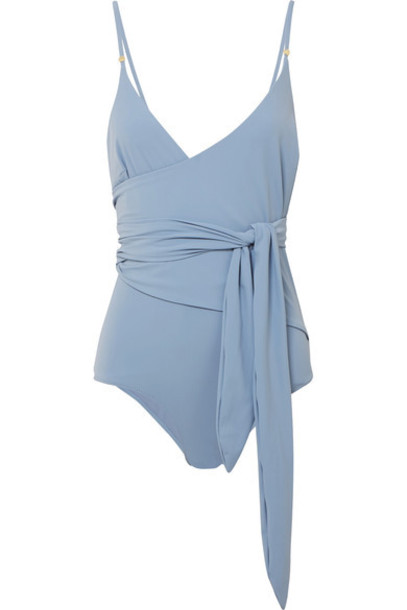 Stella McCartney blue sky blue swimwear