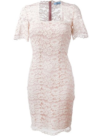 dress lace dress lace purple pink