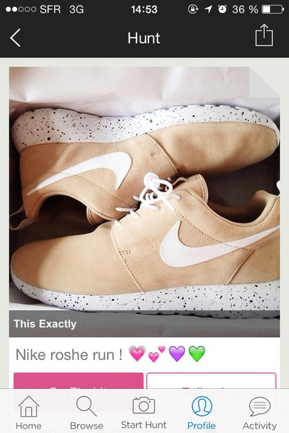 shoes roshe runs nude nike nike free run nike sneakers nike roshe run roshe  runs nike 48406c4f5