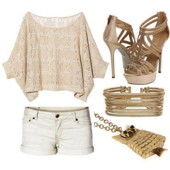 pullover cute shirt white summer outfits