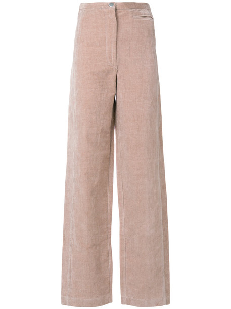 high women soft cotton purple pink pants