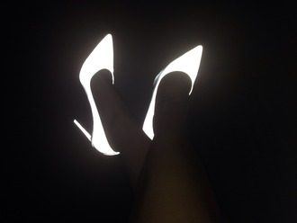 shoes heels amazing glow in the dark cool funny neon girly color/pattern high heels
