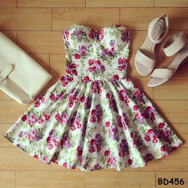 dress bustier dress floral dress floral sexy dress short party dresses short prom dress short dress short dress