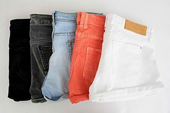 Sale any color custom order high waist by kneedeepdenim on etsy