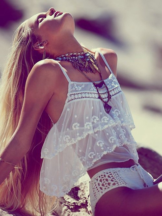 boho bohem bohemian native american gypsy hippie vintage singlet top perfect style wild outfit free hipster
