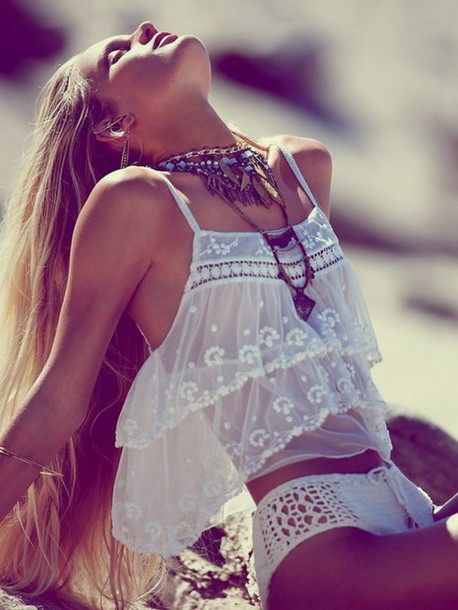 boho bohem native american gypsy hippie vintage singlet top perfect style wild outfit free hipster