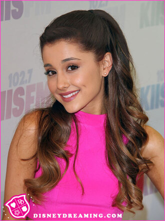 ariana grande pretty in pink underwear