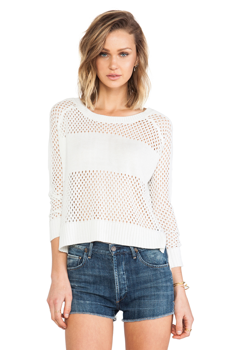 heartLoom Sonia Sweater in Eggshell from REVOLVEclothing.com