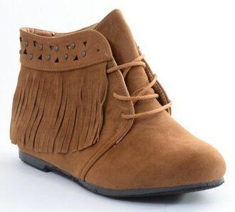shoes tan indian vintage indian boots flatforms