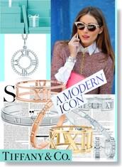 jewels,olivia palermo,jewelry,bracelets,tiffany&co