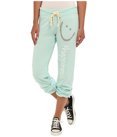 Peace Love World I Am Happiness Seafoam L2L Light Elastic Ankle Pant Seafoam - Zappos.com Free Shipping BOTH Ways