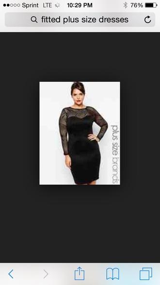 dress plus size dress lace dress fitted dress sweetheart dresses long-sleeved dress