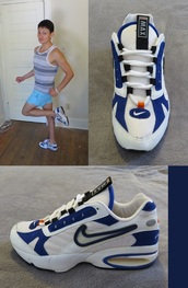 shoes,sneakers,nike,air max triax,running shoes,air max,90s style,vintage sneakers