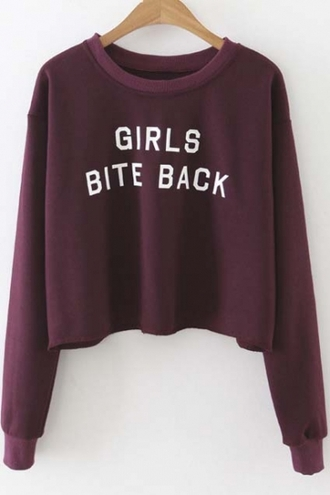 sweater purple fashion style trendy long sleeves cool quote on it beautifulhalo