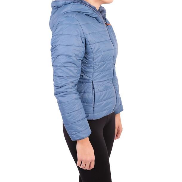 Save The Duck jacket faux fur jacket fur jacket fur faux fur blue