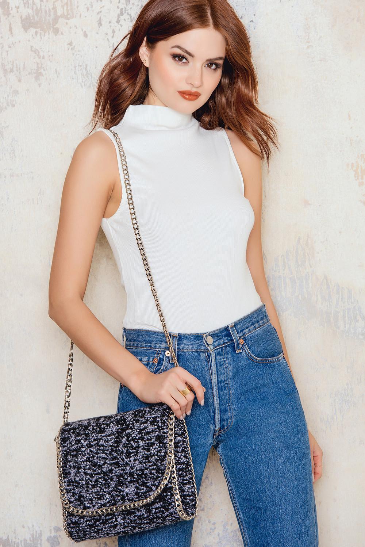 NA-KD Accessories Shoulder Chain Bag