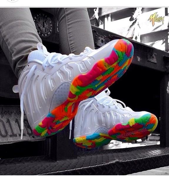 shoes fruity pebble foams