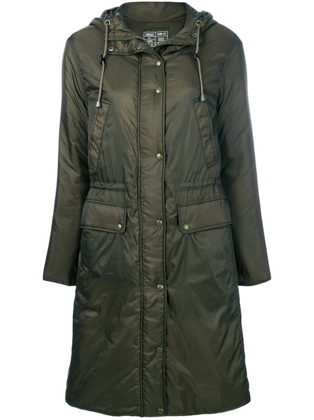 Sempach coat zip women green
