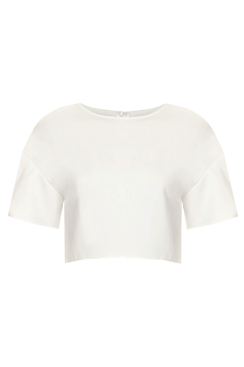 **Boxy Crop Top by The White Pepper