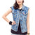 Denim vest - Pop Sick Vintage