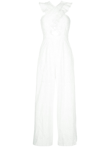 Alice McCall jumpsuit women white cotton