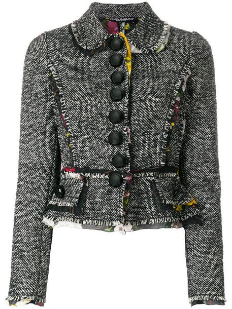 jacket women black silk wool