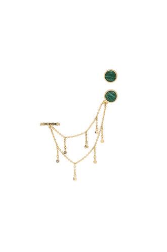 earrings stud earrings metallic gold