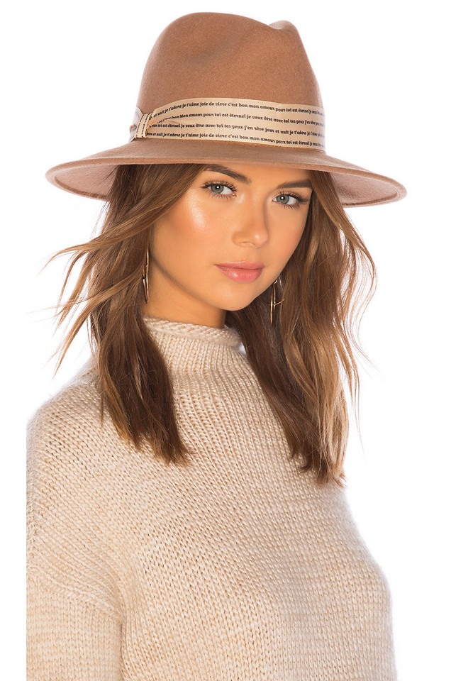 ale by alessandra L'Amour Hat in brown