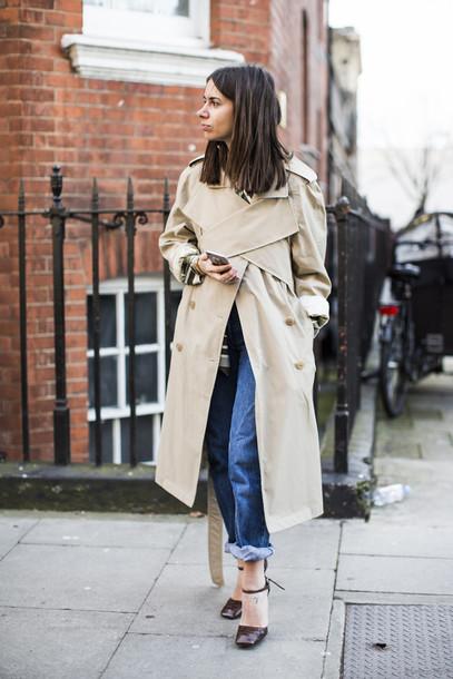 coat london fashion week london fashion london fashion week 15 london style classic cool classic cool trench coat casual casual coat