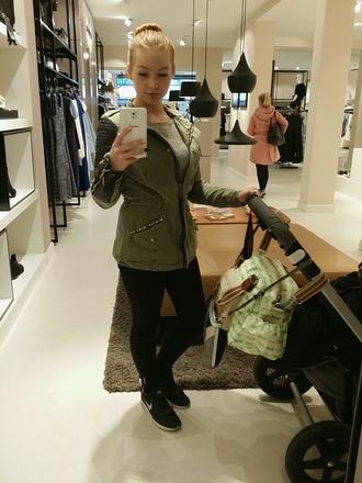 jacket green jacket
