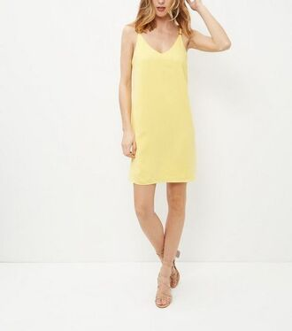 dress yellow slip dress slip dress yellow dress summer dress summer outfits sandals sandal heels nude sandals strappy sandals spaghetti strap spaghetti straps dress