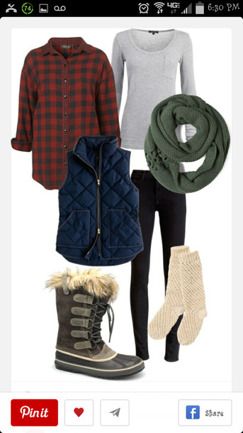 scarf knitted scarf jacket camping