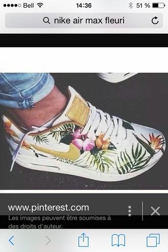 shoes floral