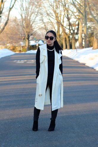 looks by lau blogger trench coat coat top pants shoes