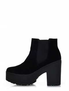 Cleated sole platform sandals, holographic chunky cut out boots and mor