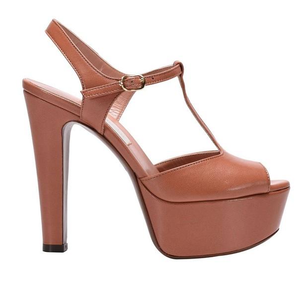 LAutre Chose sandals shoes women sandals shoes peach