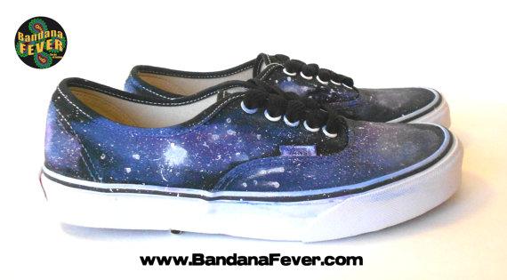 all black galaxy vans