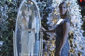 pll ice ball long dress pretty little liars glitter dress sasha pieterse alison dilaurentis