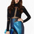 Personality Gauza Cut Design Jumpsuit in Black [FJCF0080] - PersunMall.com