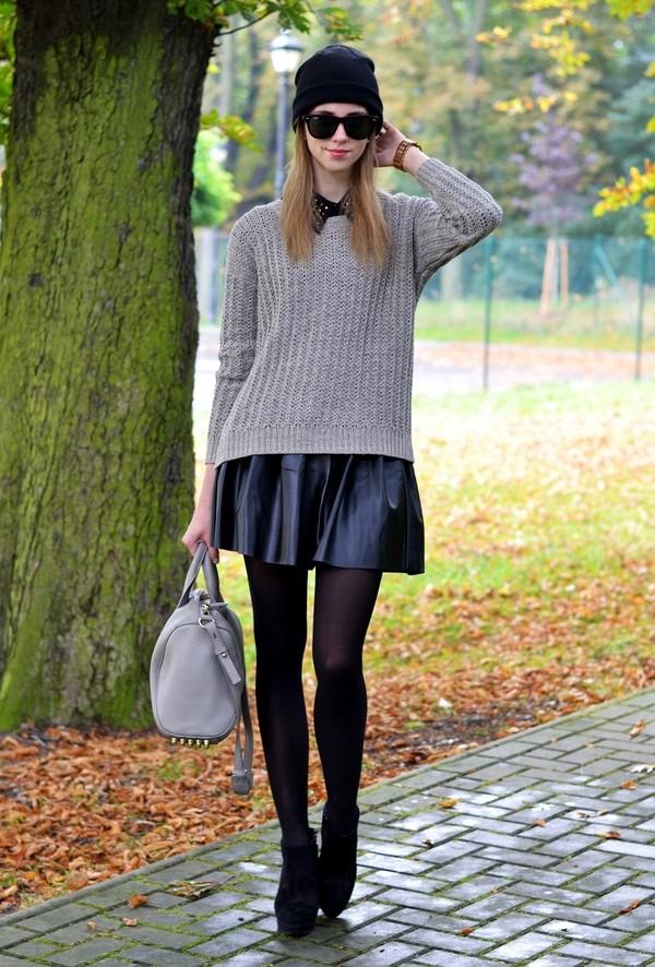 vogue haus blouse sweater skirt shoes bag hat sunglasses jewels