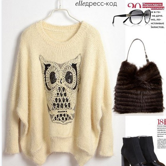 Twinking Owl Sweater new FSMY240 from Fashion4you on Storenvy